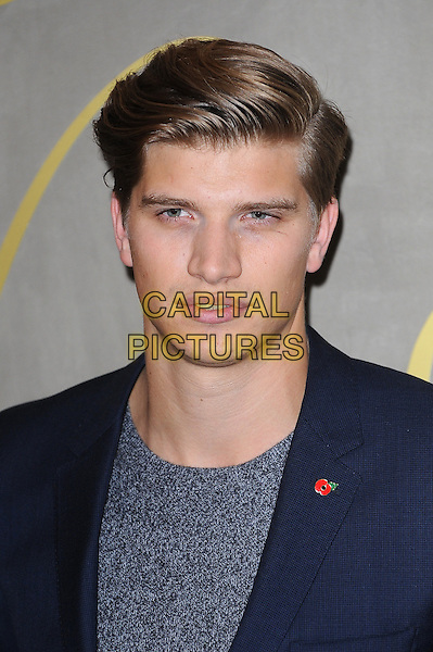 LONDON, ENGLAND - NOVEMBER 3: Toby Huntington-Whiteley attends the Burberry Festive Film Premiere at Burberry Regent Street on November 3, 2015 in London, England.<br /> CAP/BEL<br /> &copy;BEL/Capital Pictures
