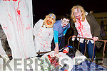 Pictured at the Halloween Festival in Knocknagoshel on Sunday night were Ann Keane, Matthew Keane and Susan Tugwell.