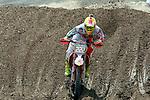 Italy's Antonio Cairoli rides during the  MXGP World Championship Motocross at Pietramurata, Italy on April 13, 2014.