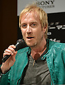 Rhys Ifans, Jun 13, 2012 : Tokyo, Japan - Actor Rhys Ifans speaks at a news conference in Tokyo on Wednesday, June 13, 2012. Ifans was in town along with American film stars Andrew Garfield and Emma Stone and director Marc Webb to promote a June 23 world premiere of The Amazing Spider-Man.  (Photo by Natsuki Sakai/AFLO)