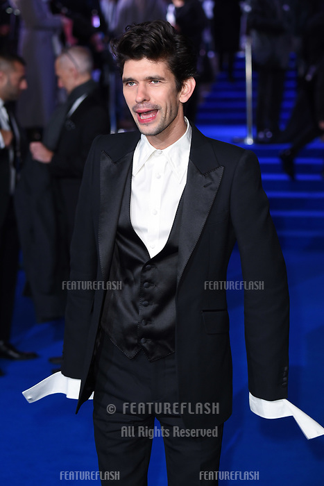 """LONDON, UK. December 12, 2018: Ben Whishaw at the UK premiere of """"Mary Poppins Returns"""" at the Royal Albert Hall, London.<br /> Picture: Steve Vas/Featureflash"""