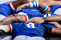 Italy scrum Sergio Parisse.<br />  <br /> Roma 9-02-2019 Stadio Olimpico<br /> Rugby Six Nations tournament 2019  <br /> Italy - Wales <br /> Foto Antonietta Baldassarre / Insidefoto
