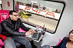 Amsterdam, 29 maart 2010.Presentatie Internet in de trein.Foto Felix Kalkman