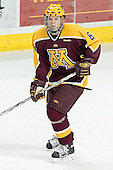 RJ Anderson - The University of Minnesota Golden Gophers defeated the University of North Dakota Fighting Sioux 4-3 on Friday, December 9, 2005, at Ralph Engelstad Arena in Grand Forks, North Dakota.