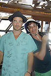 Ryan Carnes auctions GH signed scrubs -  Actors from Y&R, General Hospital and Days donated their time to Southwest Florida 16th Annual SOAPFEST at the Cruisin' and Schmoozin' Marco Island Princess in Marco Island, Florida on May 24, 2015 - a celebrity weekend May 22 thru May 25, 2015 benefitting the Arts for Kids and children with special needs and ITC - Island Theatre Co.  (Photos by Sue Coflin/Max Photos)