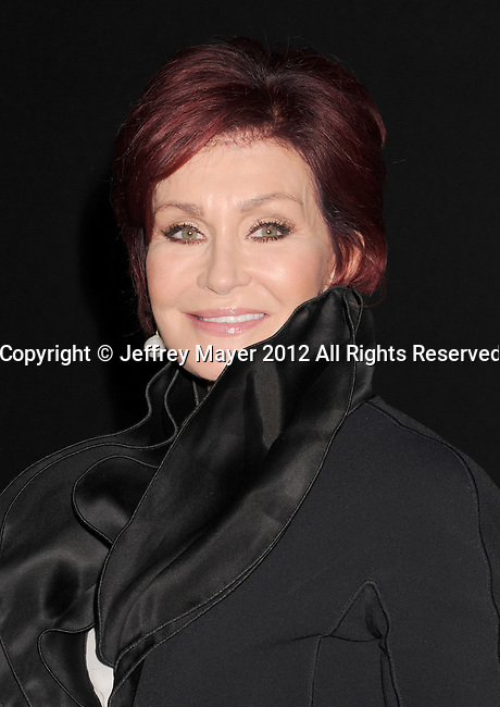WEST HOLLYWOOD, CA - SEPTEMBER 18: Sharon Osbourne arrives at the CBS 2012 fall premiere party at Greystone Manor Supperclub on September 18, 2012 in West Hollywood, California.