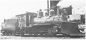 RGS 2-8-0 #41 at Durango with wedge plow.<br /> RGS  Durango, CO