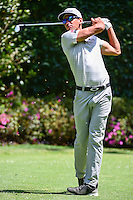 Rafa Cabrera-Bello (ESP) watches his tee shot on 3 during round 1 of the World Golf Championships, Mexico, Club De Golf Chapultepec, Mexico City, Mexico. 3/2/2017.<br /> Picture: Golffile | Ken Murray<br /> <br /> <br /> All photo usage must carry mandatory copyright credit (&copy; Golffile | Ken Murray)