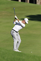 Brandon Stone (RSA) plays his 2nd shot on the 5th hole during Saturday's Round 3 of the 2018 Turkish Airlines Open hosted by Regnum Carya Golf &amp; Spa Resort, Antalya, Turkey. 3rd November 2018.<br /> Picture: Eoin Clarke | Golffile<br /> <br /> <br /> All photos usage must carry mandatory copyright credit (&copy; Golffile | Eoin Clarke)