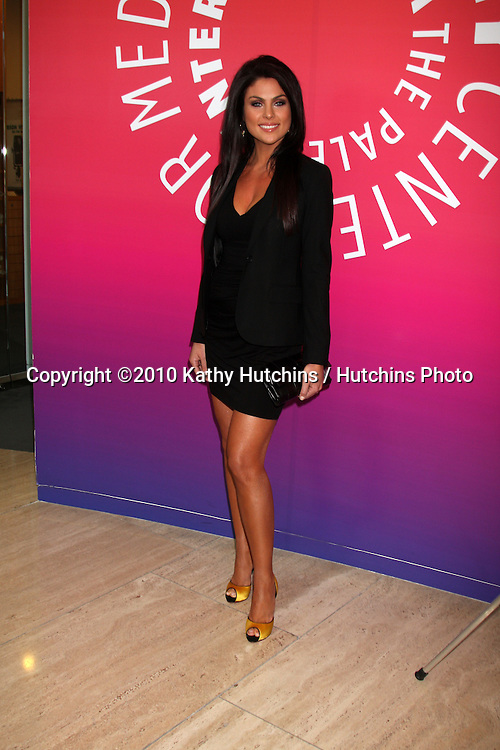 Nadia Bjorlin.arriving at the Ken Corday Days of Our Lives Book Launch Party.Paley Center for Media.Beverly Hills, CA.April 29, 2010.©2010 Kathy Hutchins / Hutchins Photo...