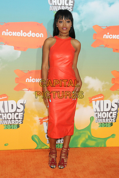 12 March 2016 - Inglewood, California - Keke Palmer. 2016 Nickelodeon Kids' Choice Awards held at The Forum.  <br /> CAP/ADM/BP<br /> &copy;BP/ADM/Capital Pictures