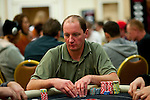 Rob Acton is near the chip lead in level 3 of Day 1A.
