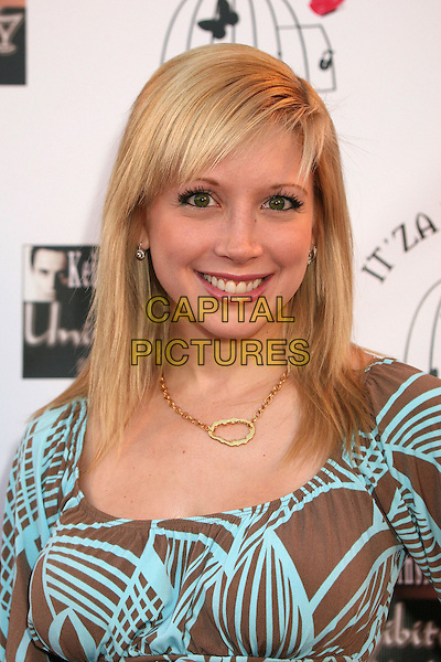"COURTNEY PELDON .""Hats Off For Cancer"" Benefit Party at Sugar Boutique, Hollywood, California, USA..May 9th, 2007.headshot portrait  .CAP/ADM/BP.©Byron Purvis/AdMedia/Capital Pictures"