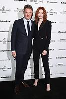 Alex Bilmes and Eleanor Tomlinson<br /> arriving for the Esquire Townhouse 2019 launch party, London.<br /> <br /> ©Ash Knotek  D3528 16/10/2019