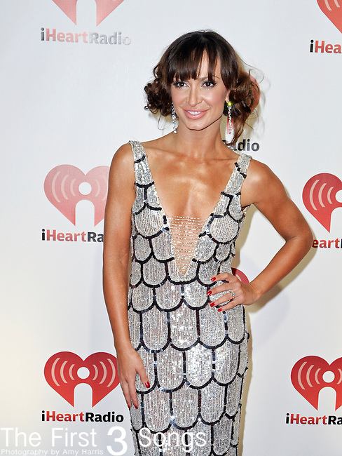 Karina Smirnoff at the 2011 iHeartRadio Music Festival on September 24, 2011 at the MGM Grand Garden Arena in Las Vegas, Nevada.