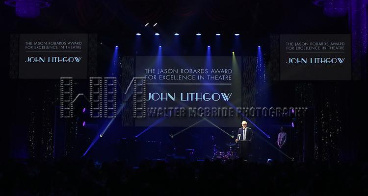 John Lithgow during the Roundabout Theatre Company's 2019 Gala honoring John Lithgow at the Ziegfeld Ballroom on February 25, 2019 in New York City.