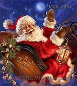 Dona Gelsinger, CHRISTMAS SANTA, SNOWMAN, classical, paintings(USGE0904,#X#) Weihnachtsmänner, Papá Noel, Weihnachten, Navidad, illustrations, pinturas klassisch, clásico