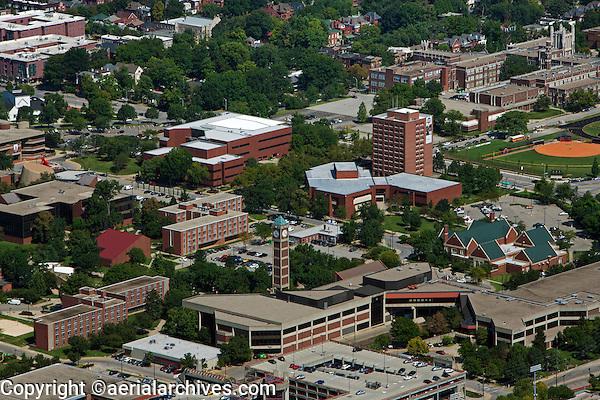 aerial photograph University of Lentucky,  Louisville, Kentucky