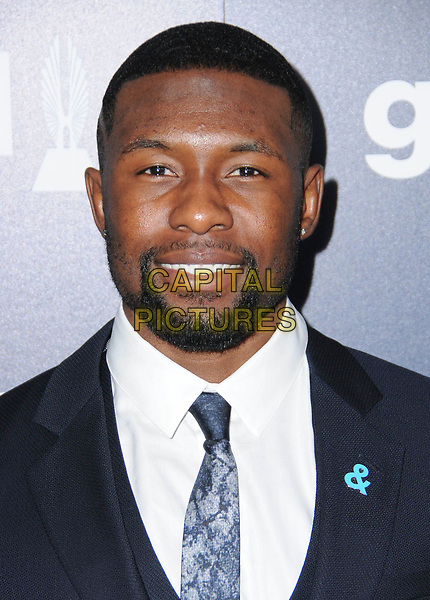 01 April 2017 - Beverly Hills, California - Trevante Rhodes.  28th Annual GLAAD Media Awards held at The Beverly Hilton Hotel in Beverly Hills.  <br /> CAP/ADM/BT<br /> &copy;BT/ADM/Capital Pictures