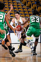 6 February 2010:  FIU's Carmen Miloglav (24) drives to the basket in the second half as the FIU Golden Panthers defeated the North Texas Mean Green, 72-55, at the U.S. Century Bank Arena in Miami, Florida.
