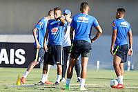 GOIANIA, GO, 28.07.2016 - BRASIL-JAP&Atilde;O - Neymar Jr. durante treino da sele&ccedil;&atilde;o ol&iacute;mpica brasileira de futebol no Est&aacute;dio Serra Dourada, em Goi&acirc;nia (GO), na tarde desta quinta-feira, 28. A equipe enfrentar&aacute; o Jap&atilde;o em partida amistosa no s&aacute;bado (30), em prepara&ccedil;&atilde;o para os Jogos Ol&iacute;mpicos do Rio.<br />   (Foto: Marcos Souza/Brazil Photo Press)