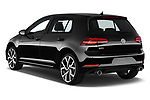 Car pictures of rear three quarter view of 2018 Volkswagen Golf-GTI-Performance - 5 Door Hatchback Angular Rear