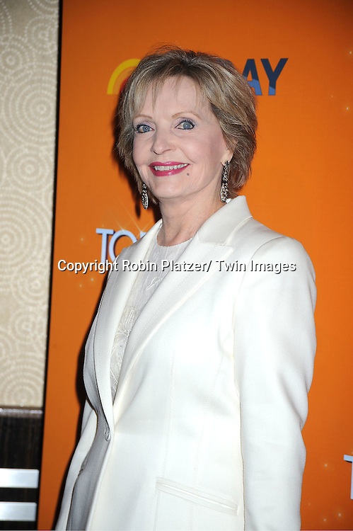 Florence Henderson attends The Today Show's 60th Anniversary celebration party on January 12, 2012 at The Edison Ballroom in New York City.