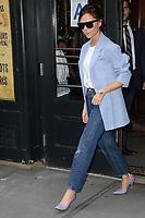 www.acepixs.com<br /> September 10, 2017 New York City<br /> <br /> Victoria Beckham was seen leaving  Balthazar in New York City on September 10, 2017.<br /> <br /> Credit: Kristin Callahan/ACE Pictures<br /> <br /> Tel: 646 769 0430<br /> Email: info@acepixs.com