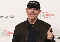 Il regista statunitense Ron Howard posa durante il photocall per la presentazione del suo film 'Pavarotti' alla 14^ Festa del Cinema di Roma all'Aufditorium Parco della Musica di Roma, 18 ottobre 2019.<br /> U.S. director Ron Howard poses during the photocell to present his movie 'Pavarotti' during the 14^ Rome Film Fest at Rome's Auditorium, on 18 october 2019.<br /> UPDATE IMAGES PRESS/Isabella Bonotto