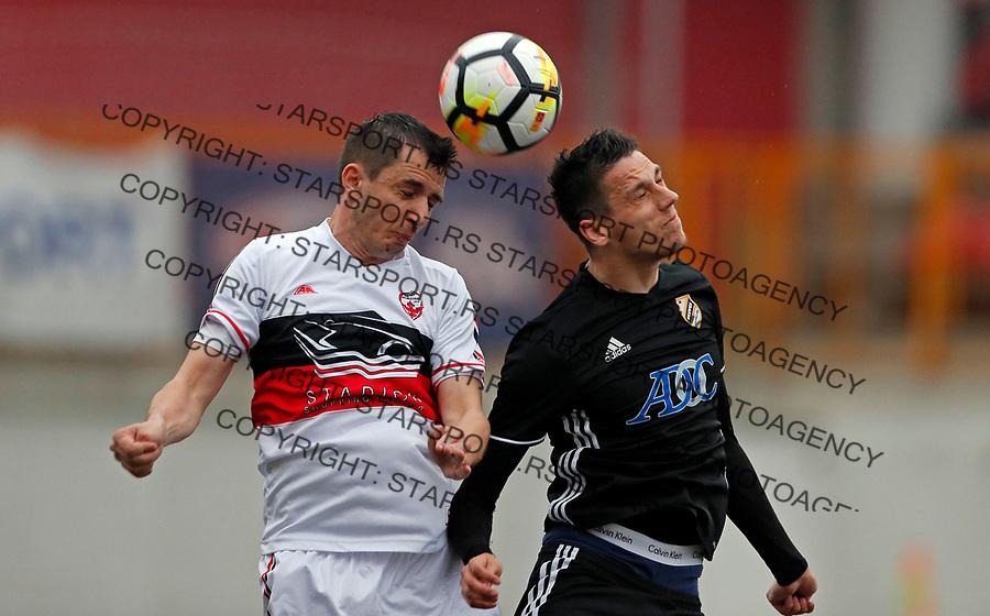 Zoran Milutinovic i Darko Zoric Vozdovac - Cukaricki super liga Srbije 5.4.1018. April 5. 2018. (credit image & photo: Pedja Milosavljevic / STARSPORT)