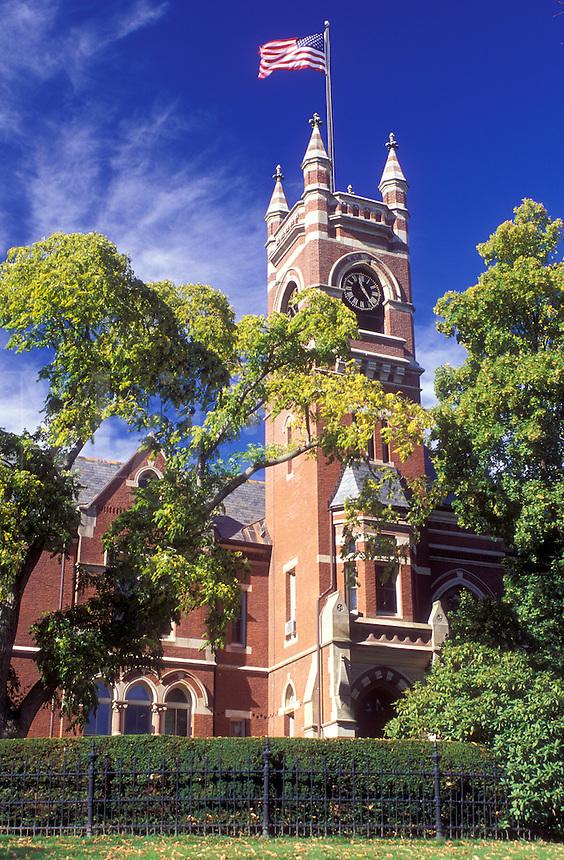 college, Northampton, Massachusetts, MA, Smith College in Northampton in the autumn.