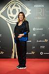 """Toñi Moreno attend """"Iris Academia de Television' awards at Nuevo Teatro Alcala, Madrid, Spain. <br /> November 18, 2019. <br /> (ALTERPHOTOS/David Jar)"""