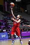 Mio Shinozaki (JPN), <br /> AUGUST 15, 2018 - Basketball : Women's Qualification round match between Hong Kong 44-121 Japan at Gelora Bung Karno Basket Hall A during the 2018 Jakarta Palembang Asian Games in Jakarta, Indonesia. <br /> (Photo by MATSUO.K/AFLO SPORT)