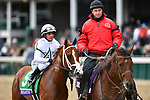November 2, 2018: Bulletin #5, ridden by Javier Castellano, wins the Juvenile Turf Sprint on Breeders' Cup World Championship Friday at Churchill Downs on November 2, 2018 in Louisville, Kentucky. Michael McInally/Eclipse Sportswire/CSM