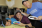 Carnes - LeBlanc - Carrigan - A Painting Party where actors and children and adults do paintings to be auctioned off at the Night of Stars and on the Marco Island Princess- Actors from Y&R, General Hospital and Days donated their time to Southwest Florida 16th Annual SOAPFEST - a celebrity weekend May 22 thru May 25, 2015 benefitting the Arts for Kids and children with special needs and ITC - Island Theatre Co. on May 23 , 2015 on Marco Island, Florida. (Photos by Sue Coflin/Max Photos)
