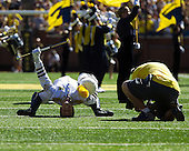 The University of Michigan football team beat Massachusetts, 63-13, at Michigan Stadium in Ann Arbor, Mich., on September 15, 2012.
