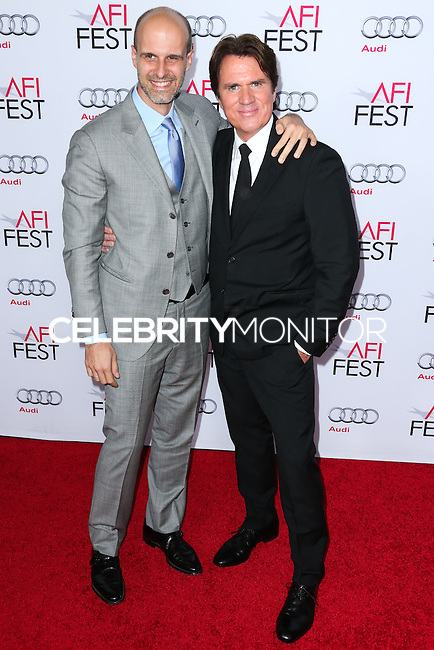 HOLLYWOOD, LOS ANGELES, CA, USA - NOVEMBER 12: Edoardo Ponti, Rob Marshall arrive at the AFI FEST 2014 - Special Tribute To Sophia Loren held at the Dolby Theatre on November 12, 2014 in Hollywood, Los Angeles, California, United States. (Photo by Xavier Collin/Celebrity Monitor)