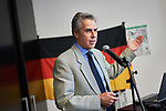 Germany, Berlin, 2018/05/14<br /> <br /> Prof. Dr. Hans Schultz. Third German-Israeli Wine Summit organised by twin wineries initiative and ELNET on 14/05/2018 at Amano Grand central. (Photo by Gregor Zielke)