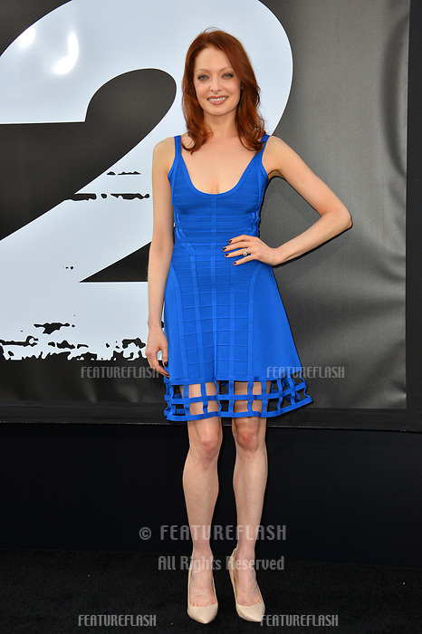 Elizabeth J. Carlisle  at the premiere for &quot;The Equalizer 2&quot; at the TCL Chinese Theatre, Los Angeles, USA 17 July 2018<br /> Picture: Paul Smith/Featureflash/SilverHub 0208 004 5359 sales@silverhubmedia.com