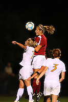 14 September 2007: Stanford Cardinal Allison Falk during Stanford's 3-2 win in the Stanford Invitational against the Missouri Tigers at Maloney Field in Stanford, CA.
