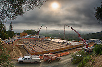 Promontory Winery Construction 1