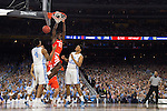 02 APR 2016:  Tyler Roberson (21) of Syracuse University drives to the hoop against the University of North Carolina during the NCAA Division I Men's Final Four held at NRG Stadium in Houston, TX.  North Carolina defeated Syracuse 83-66 to advance to the finals.  Jamie Schwaberow/NCAA Photos