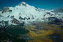 July 17 thru 23 / Alaska / Vacation and stock photography / Spur Volcano in Southwest Alaska / Katmai Pennensula /  Photo by Bob Laramie
