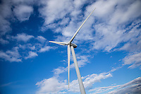 2MW wind turbine, Gedney Marsh wind farm, Lincolnshire