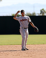 Brandon Crawford / San Francisco Giants 2008 Instructional League..Photo by:  Bill Mitchell/Four Seam Images