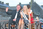 Christina Somers waves to the crowd during the parade at the Caili?n A?ilainn festival in Lixnaw on Friday evening.