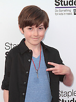 UNIVERSAL CITY, CA - JULY 22: Mason Cook at the 2012 Staples For Students 'Party' For A Cause hosted by Staples, DoSomething.org and Bella Thorne at the Globe Theatre at Universal Studios on July 22, 2012 in Universal City, California © mpi21/MediaPunch Inc. /NortePhoto.com*<br />