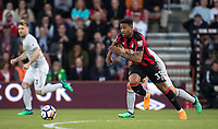 Jordon Ibe of AFC Bournemouth during the Premier League match between Bournemouth and Manchester United at the Goldsands Stadium, Bournemouth, England on 18 April 2018. Photo by Andy Rowland.