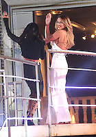 Jasmine Waltz, Sam Faiers at Celebrity Big Brother 2014 - Contestants Enter The House, Borehamwood. 03/01/2014 Picture by: Henry Harris / Featureflash