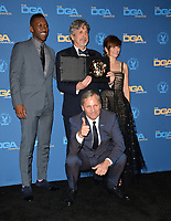 LOS ANGELES, CA. February 02, 2019: Mahershala Ali, Peter Farrelly, Linda Cardellini & Viggo Mortensen at the 71st Annual Directors Guild of America Awards at the Ray Dolby Ballroom.<br /> Picture: Paul Smith/Featureflash